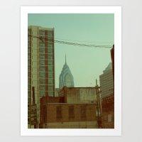 philadelphia Art Prints featuring Philadelphia by Jeremy Jon Myers