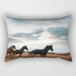 horseplay  Rectangular Pillow