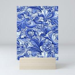 Blue and White Porcelain Mini Art Print
