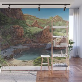 Outback Oasis Wall Mural