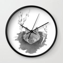 Wolf Baptism Wall Clock