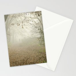 FOGGY WALK Stationery Cards