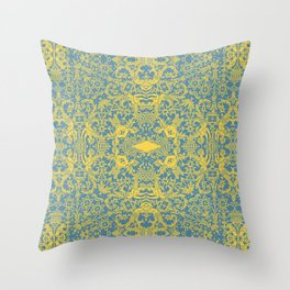 Lace Variation 10 Throw Pillow