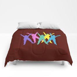 flying man Comforters