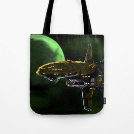 Comman Spaceship in Orbit Tote Bag