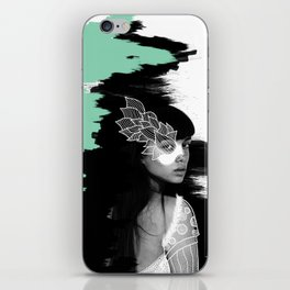 Wild woman iPhone Skin