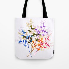 Itty Bitty Flowers Tote Bag
