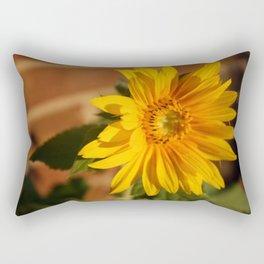 My Sunflower, Julia #5 Rectangular Pillow