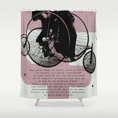 Timetravelers Shower Curtain