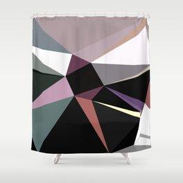 modern geometric design Shower Curtain