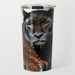 The Black Leopard Travel Mug