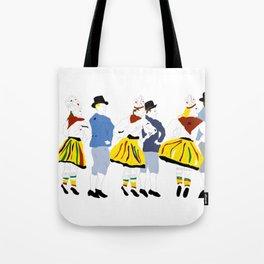 Rahvatants / Estonian Folk Dance Tote Bag