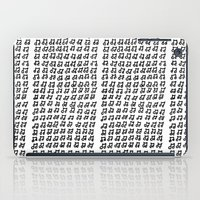music notes iPad Cases featuring MUSIC Notes  by Geryes