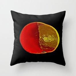 The Legendary Orange Throw Pillow