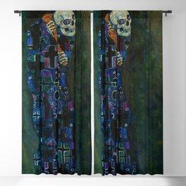 "Gustav Klimt ""Death and Life"" Blackout Curtain"