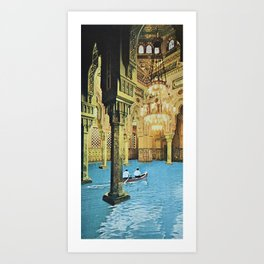 Chamber of Reflection Art Print