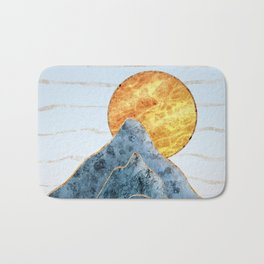 Sunset in the Volcanic Mountains Bath Mat