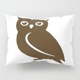 Little Brown Owl Pillow Sham