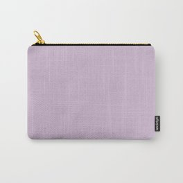 Solid Lilac Thistle Simple Solid Color All Over Print Carry-All Pouch