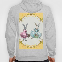 Dressed Easter Bunnies 2 Hoody