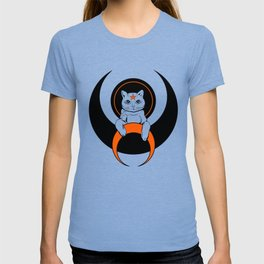 Cat from moon T-shirt