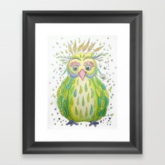 Forest's Owl Framed Art Print