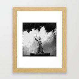 Monument Series: Gravity Angel #4 Framed Art Print