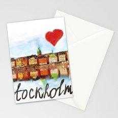 I love Stockholm Stationery Cards