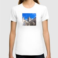 downton abbey T-shirts featuring Bath Abbey by Casey J. Newman