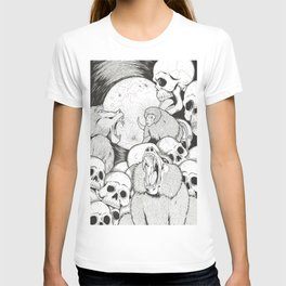 Baboons/Genocide/Licking Skulls T-shirt