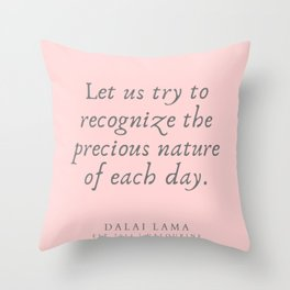 127 | Dalai Lama Quotes 190504 Throw Pillow