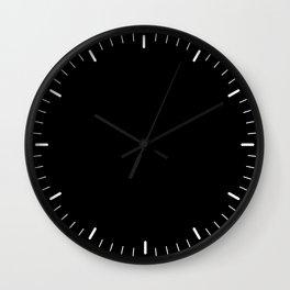 Little marks black Wall Clock