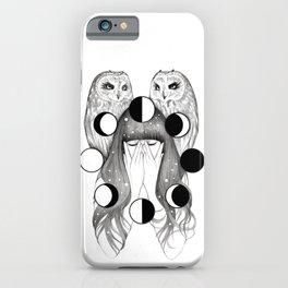 Moon Spells iPhone Case