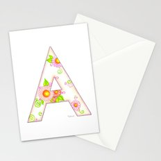 A is for Aster Stationery Cards