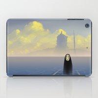 chihiro iPad Cases featuring Kaonashi by Roberto Nieto