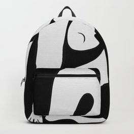 Picasso - Black and White #1 Backpack