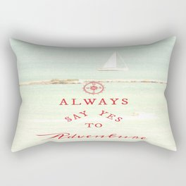 Always Adventure Rectangular Pillow