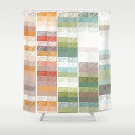 Lily pattern Shower Curtain