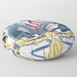 Nathaniel Currier - The Nation's Choice for President and Vice President - Clay and Frelinghuysen Floor Pillow