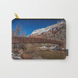 Virgin_River Foot_Bridge - Zion Court Carry-All Pouch