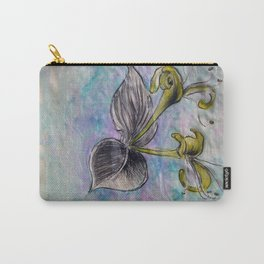 Honeysuckle small Carry-All Pouch