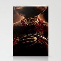 freddy krueger Stationery Cards featuring Freddy Krueger by Duke78