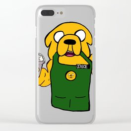 Jake the barista Clear iPhone Case