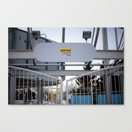 Surveillance  Canvas Print