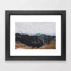 interstellar - landscape photography Framed Art Print