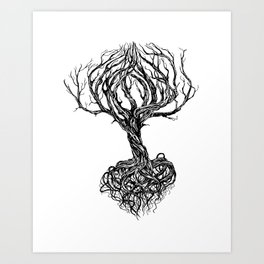 Old tree Art Print