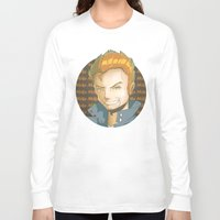 mike wrobel Long Sleeve T-shirts featuring Mike  by EY Cartoons