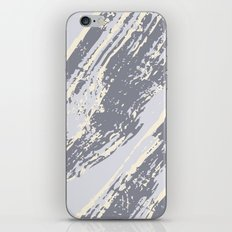 shades of gray marble effect iPhone Skin