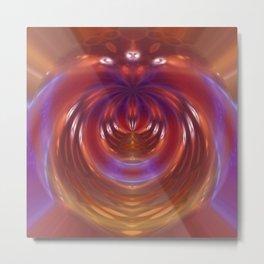 The Goddess of Infinite Power Wears Chromosomes... Metal Print