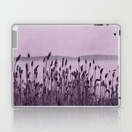 Purple Nature by the sea Laptop & iPad Skin